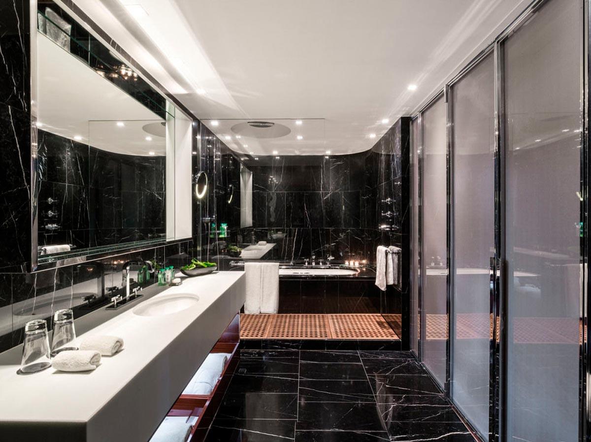 Negro Marquina Black - Baño - Bathroom
