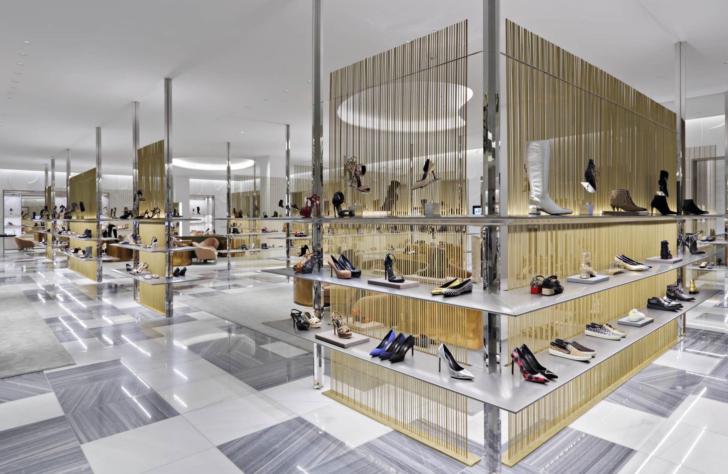 Mármol en centros comerciales - Barneys - Marble in shopping centers