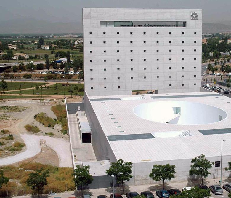 Centro cultural caja granada tino - Caja de arquitectos granada ...