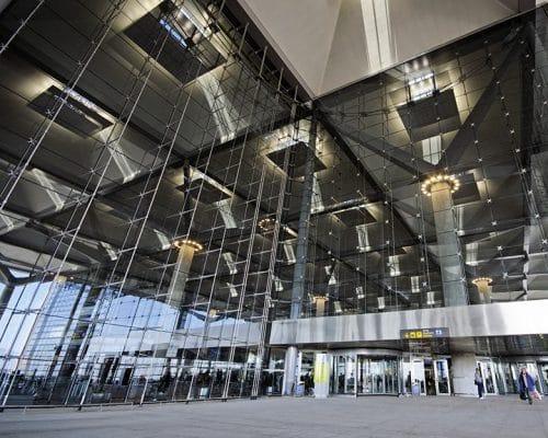 Terminal 3, Malaga Airport, Malaga, Andalucia, Spain.