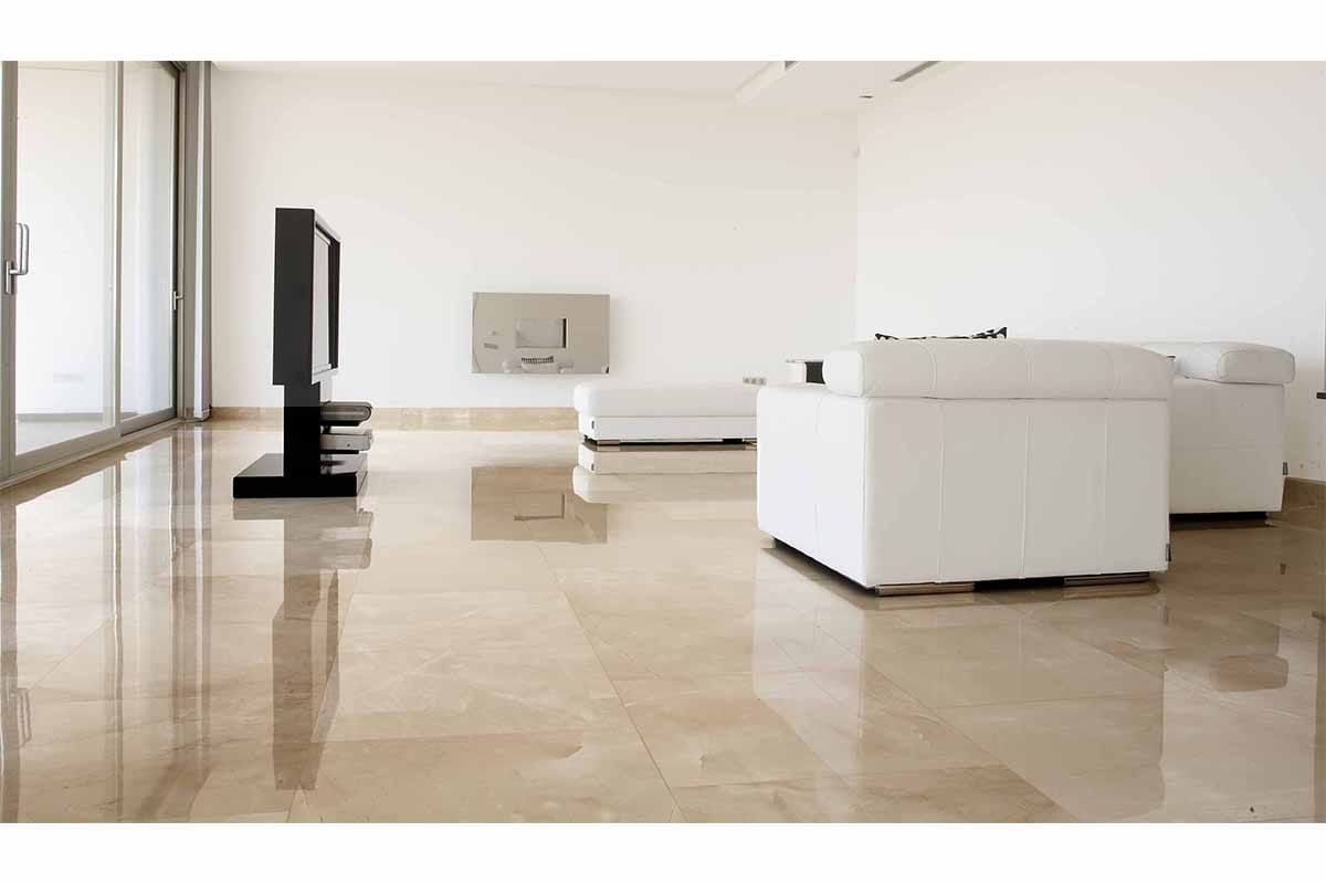 Marble floor for interiors, nine examples | TINO Natural Stone