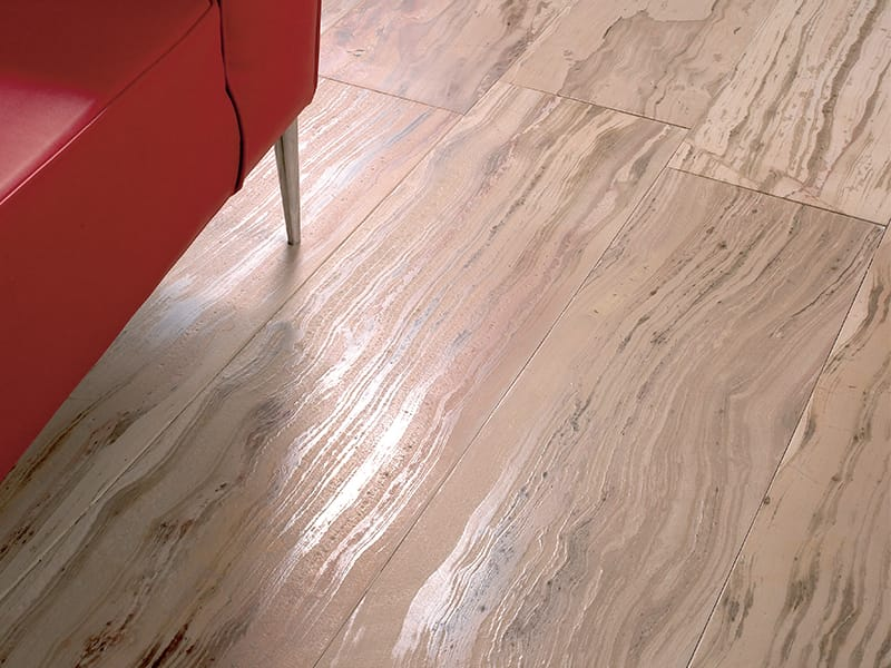 Tino Natura Collection- Marble floor with a wooden look - Suelo de mármol con aspecto de madera