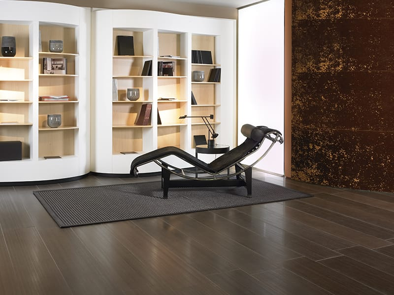 The Floor Of This Room Shows A Beautiful Wengue In Honed Finish Although It Looks Like Wood Material Is Natural Stone