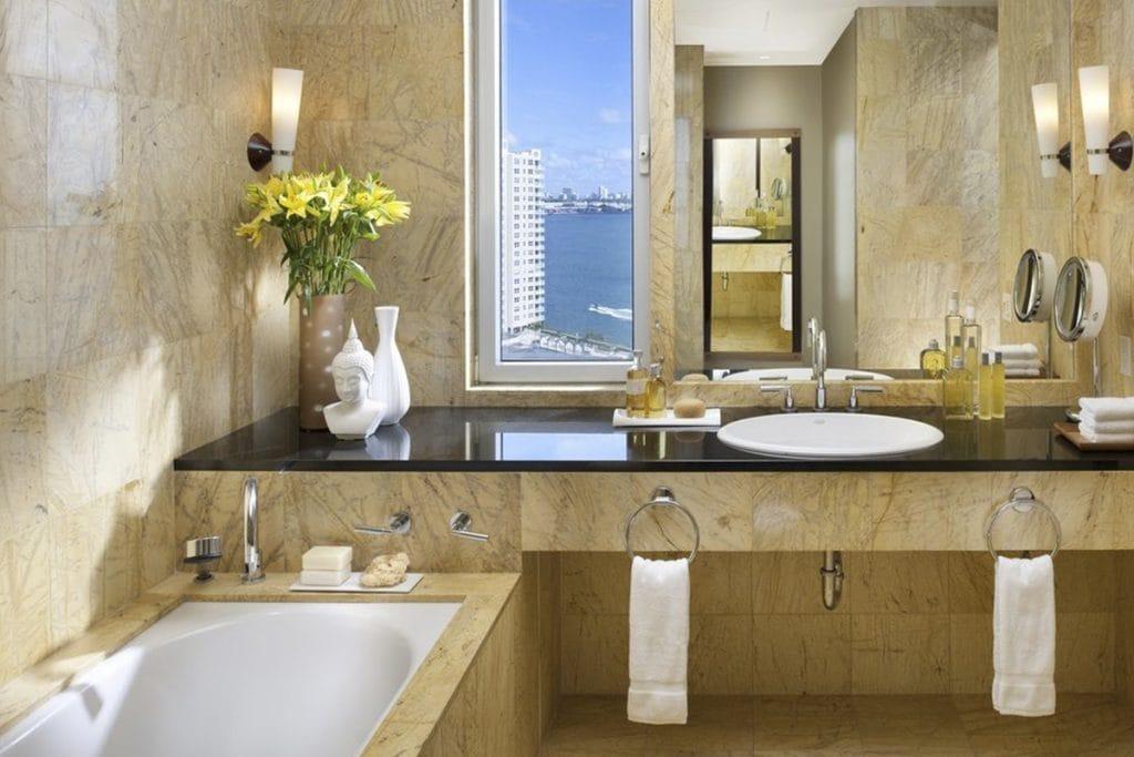 Marble supplier in Miami - Mandarin Oriental - Proveedor de mármol en Miami