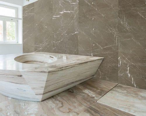 Bañeras de mármol - Oasis Brown - Marble bathtub