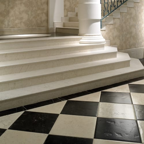 Escaleras de mármol - Villa Padierna - Marble stairs