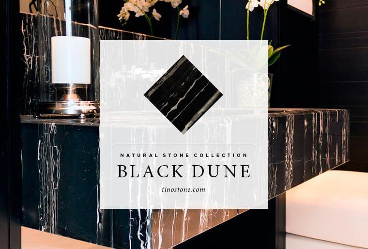 black marble Black Dune - Mármol negro Black Dune