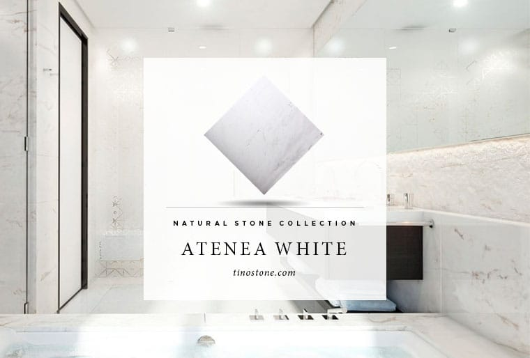 atenea white natural stone