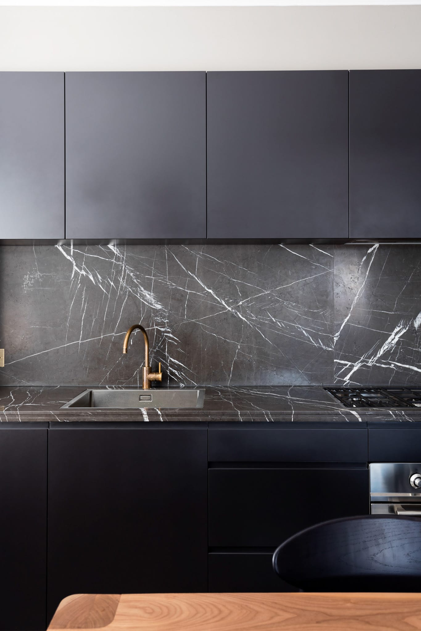 The Bet Of Marble In Dark Tones For Minimalist Kitchens Tino Natural Stone