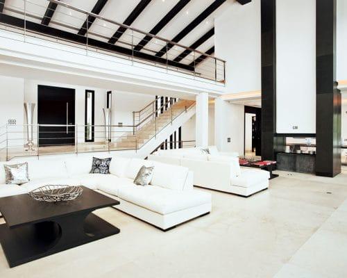 Marble in luxury hotmes, mármol en casas de lujo