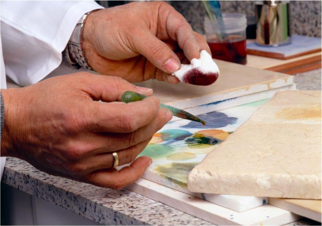 Renovación de mármol y piedra natural