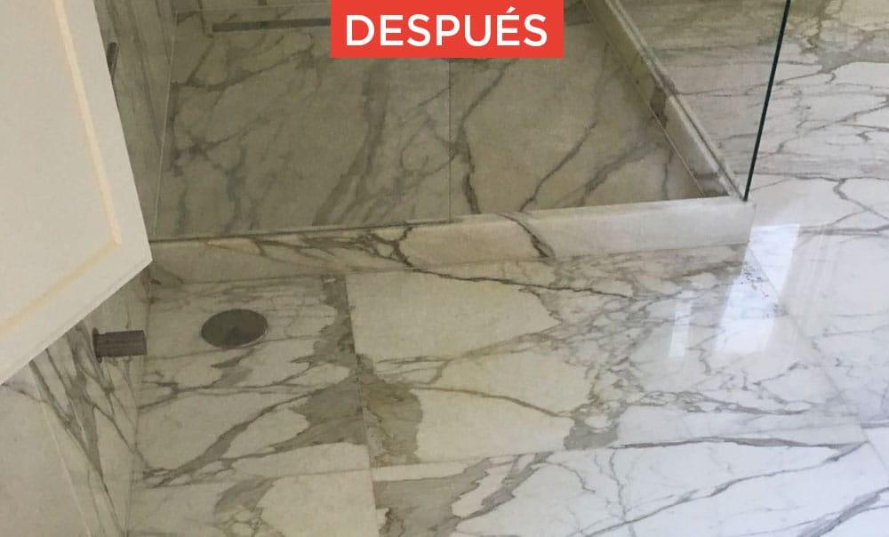 Recuperación de mármol y piedra natural