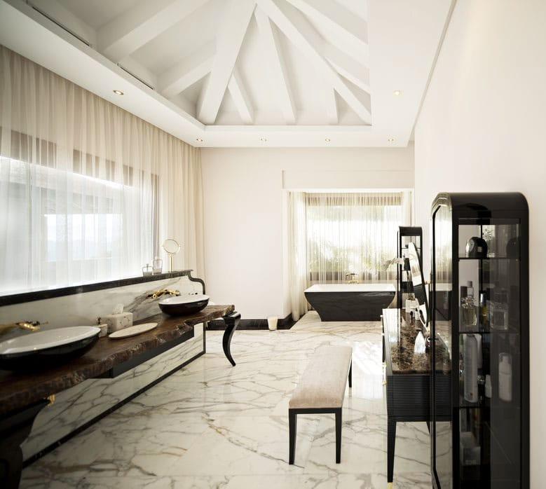 Mármol en Marbella villas de lujo - Marble in Marbella luxury villas