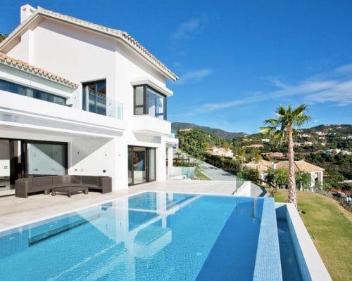 Mármol en Marbella a través de sus casas de lujo
