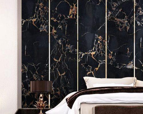 Paredes de mármol exótico - Portoro - Exotic marble walls