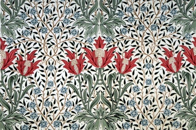 William Morris. Arts & Crafts.