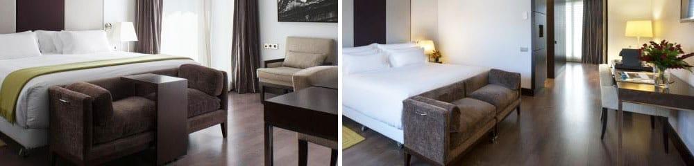 Suelo de mármol - habitación NH Obradoiro room - Marble floor