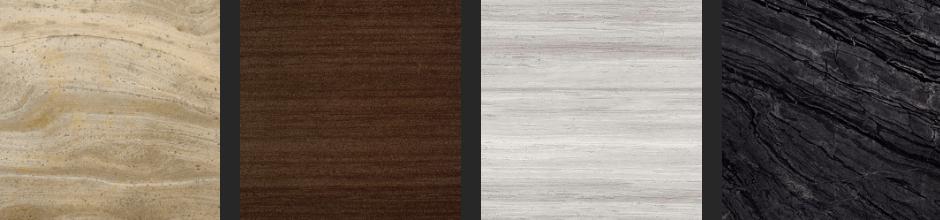 Mármol con aspecto de madera - Marble with wood like appearance