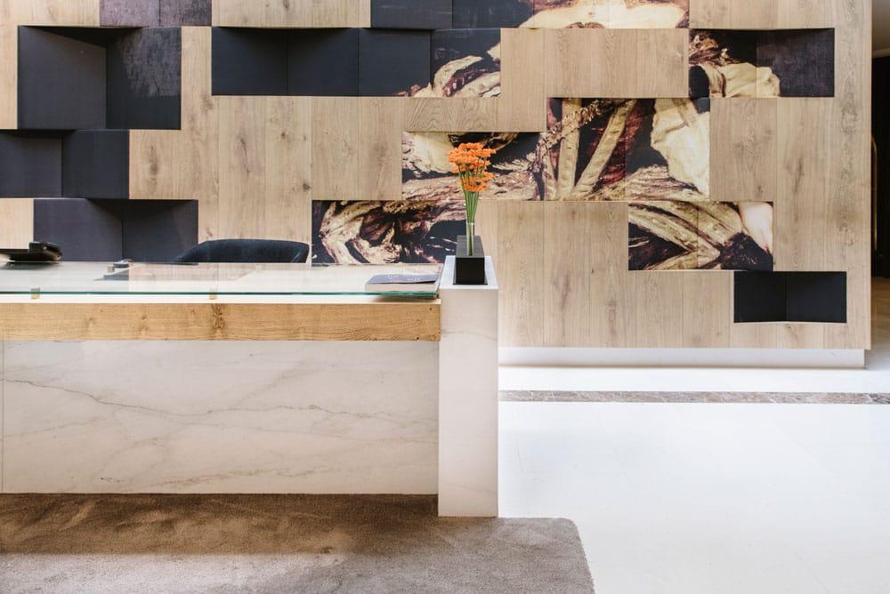 Mostrador de mármol - Palacio de los Duques - Marble counter