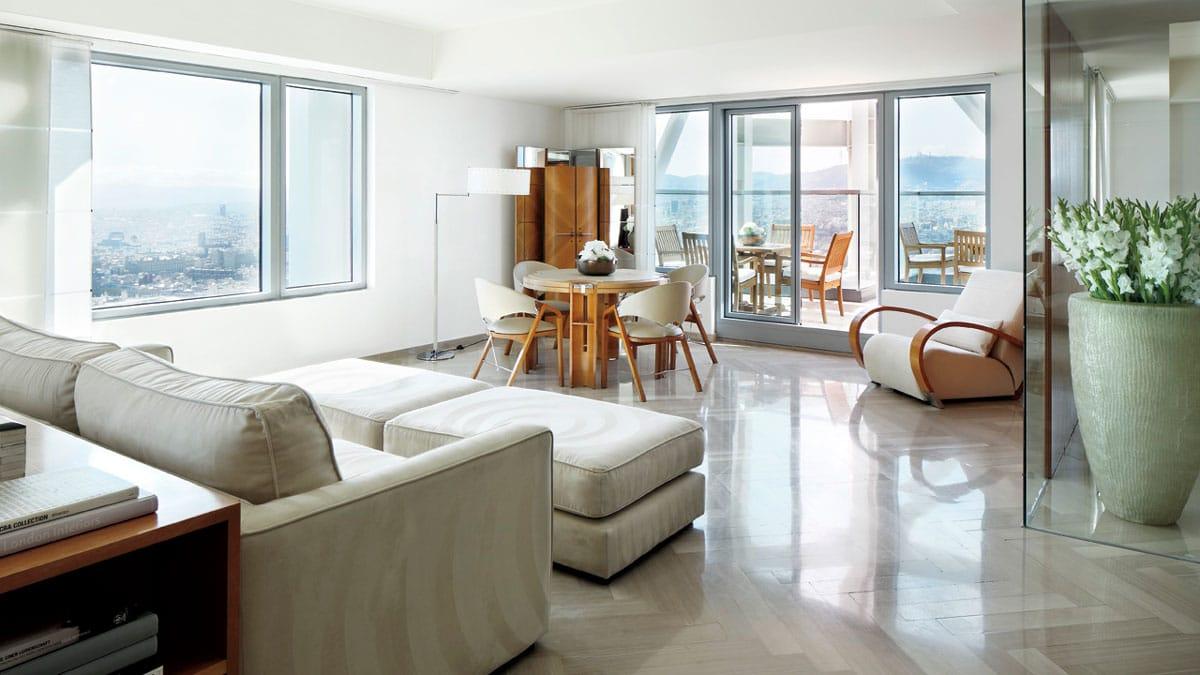 Marble supplier in Barcelona Port Olímpic - Ritz Hotel - Proveedor de mármol en el Puerto Olímpico de Barcelona