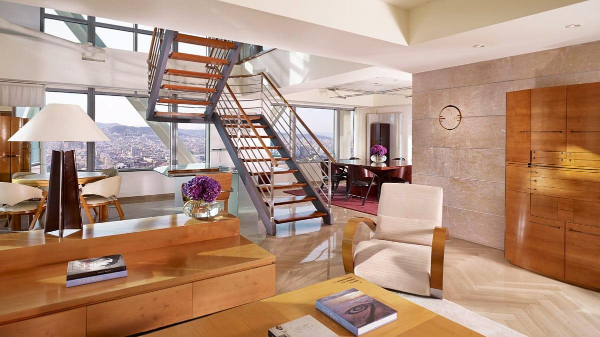 Mármol con aspecto de madera - Suite Hotel Ritz Barcelona - Marble wood 2