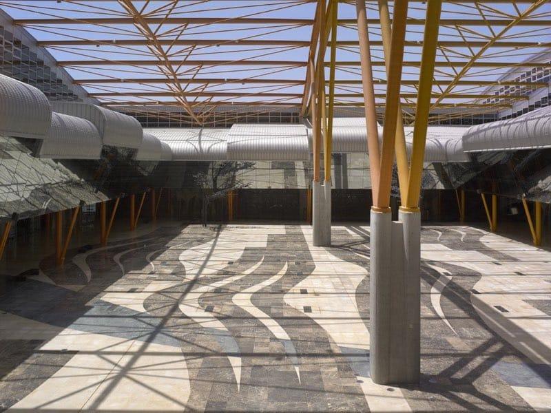 Mármol en palacios de congresos y recintos feriales - Málaga 3 - Marble in congress palaces and fairgrounds