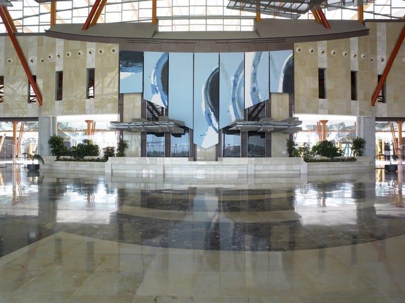 Mármol en palacios de congresos y recintos feriales - Málaga 1 - Marble in congress palaces and fairgrounds