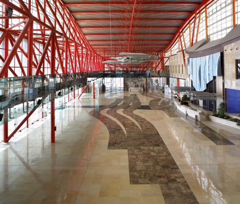 Mármol en palacios de congresos y recintos feriales - Málaga 2 - Marble in congress palaces and fairgrounds