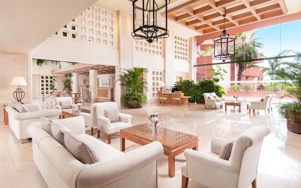 Sheraton Tenerife - Crema Bianco - Marble floor - lobby - Suelo de mármol