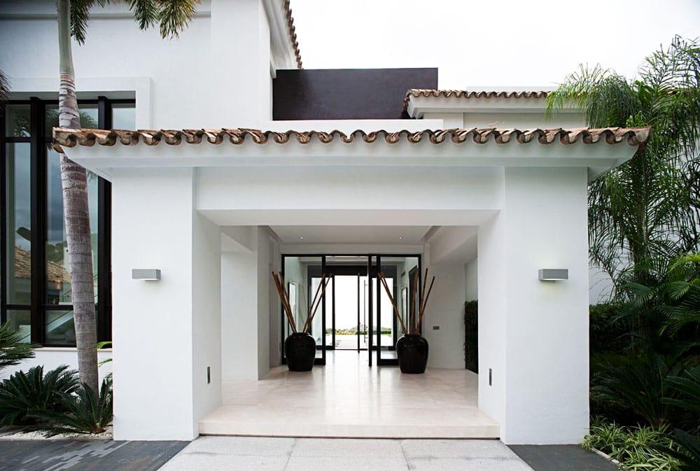 Vestíbulo de mármol Crema Premium - La Zagaleta Marbella - Premium Beige marble foyer 2