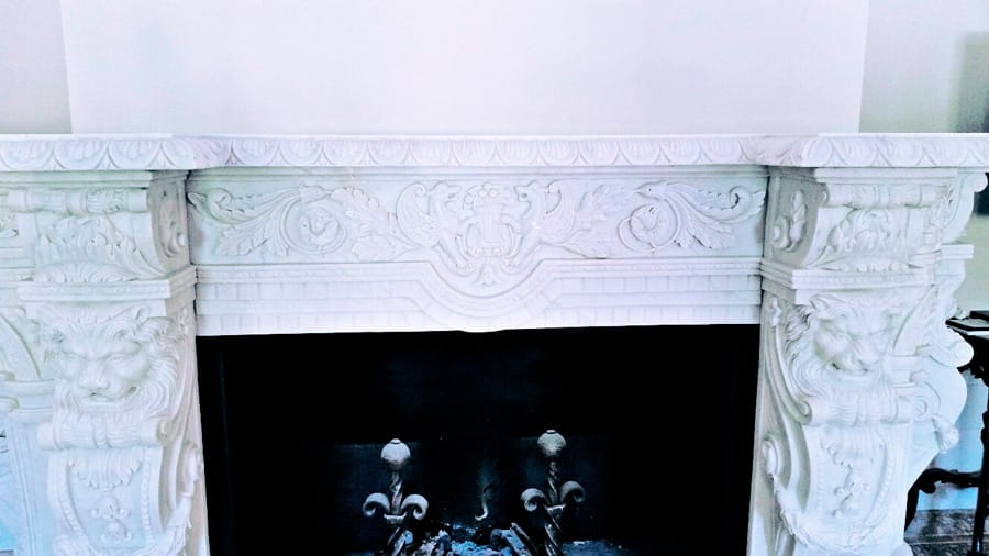 Restauración de chimeneas de mármol - Restoration of marble fireplaces