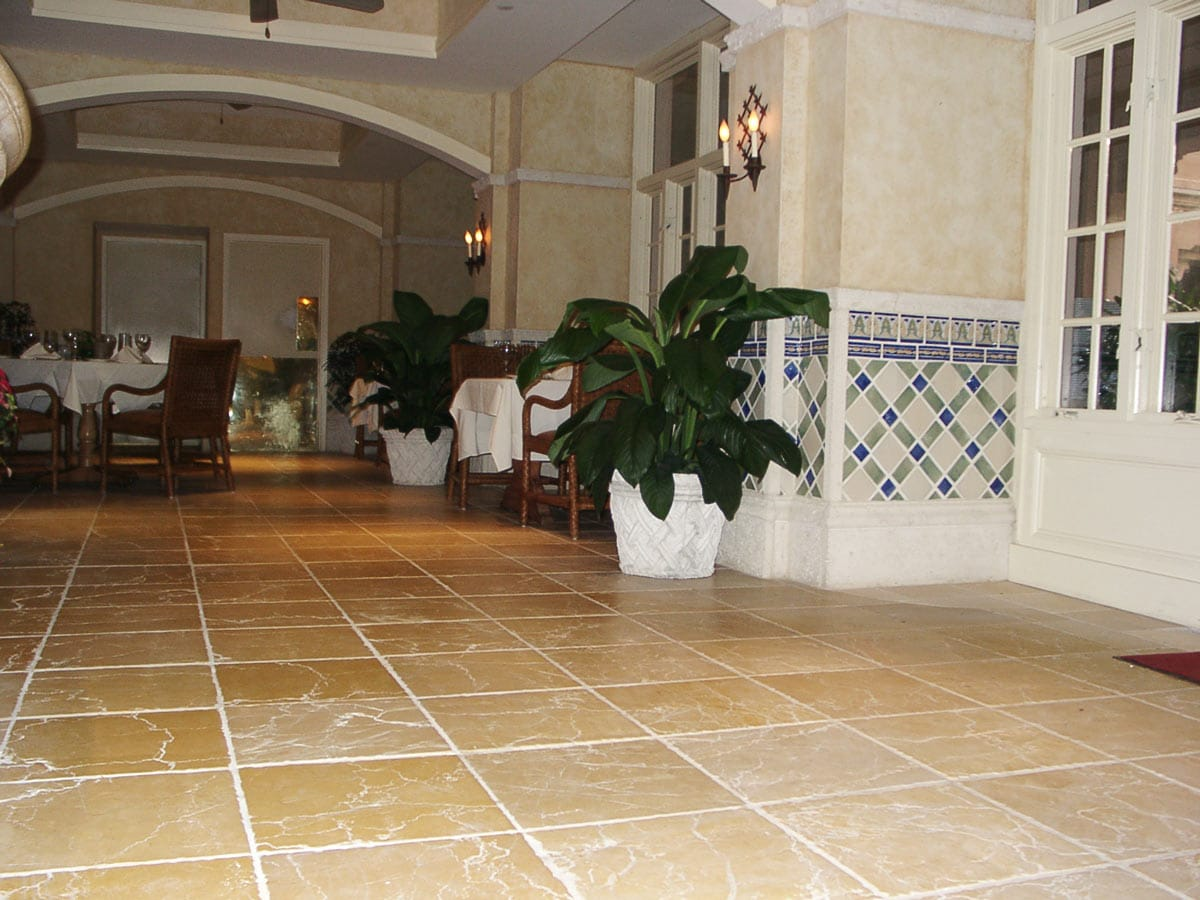 Biltmore Hotel Miami - Mármol Amarillo Parador Yellow marble - Tempo