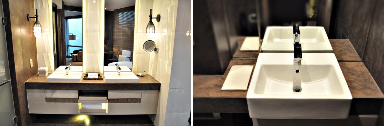 Hyatt Regency Suzhou - Kafe Neo - Baños - Bathroom - Marble 4