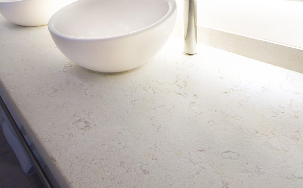 Blanco Perlino - Perlino White - Piedra caliza blanca - White limestone - Cotton