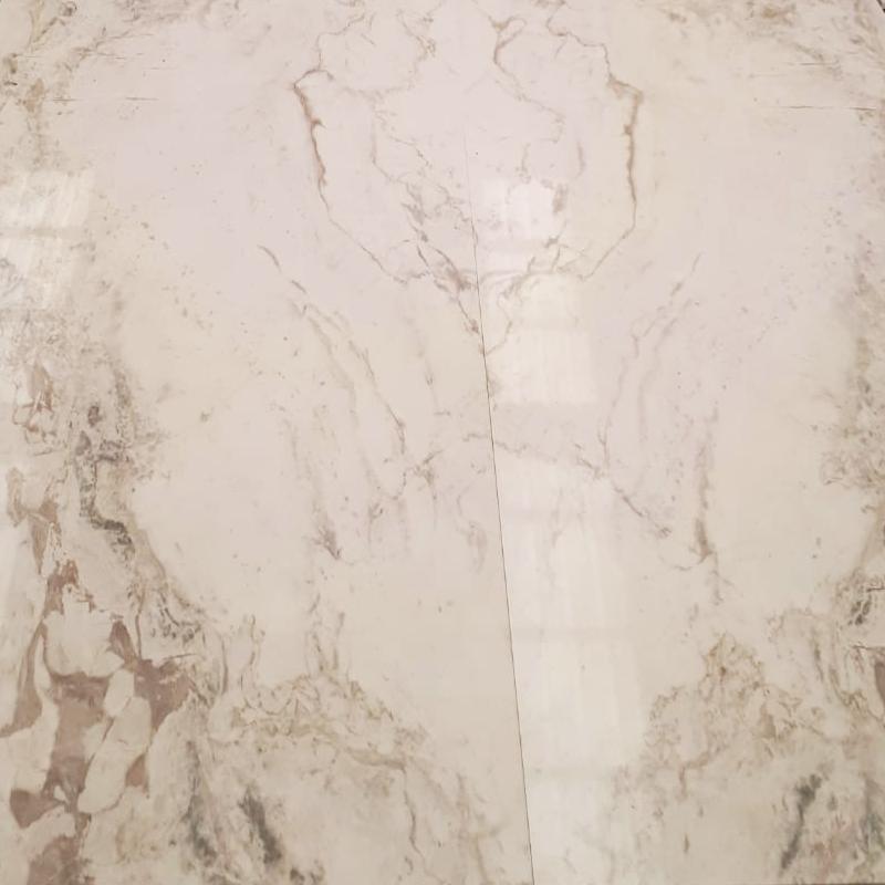 Bookmatch de mármol Blanco Nebula - Nebula White marble bookmatch