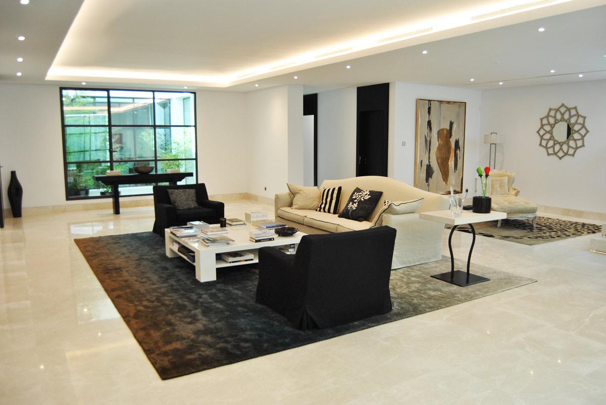 Premium Beige marble floor- Marbella VI - Suelo de mármol Crema Premium