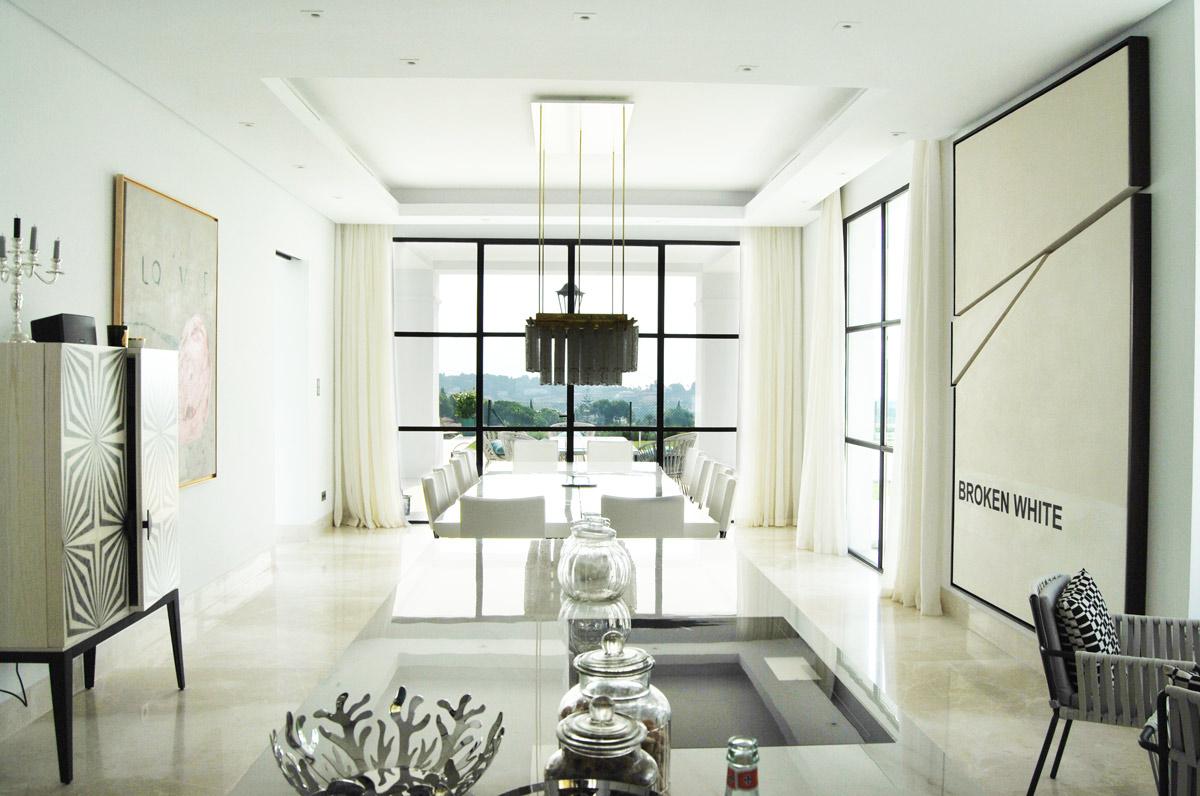 Premium Beige marble kitchen -Marbella VI - Cocina de mármol Crema Premium