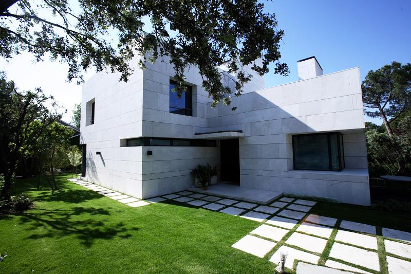 Fachada de mármol - Marble facade