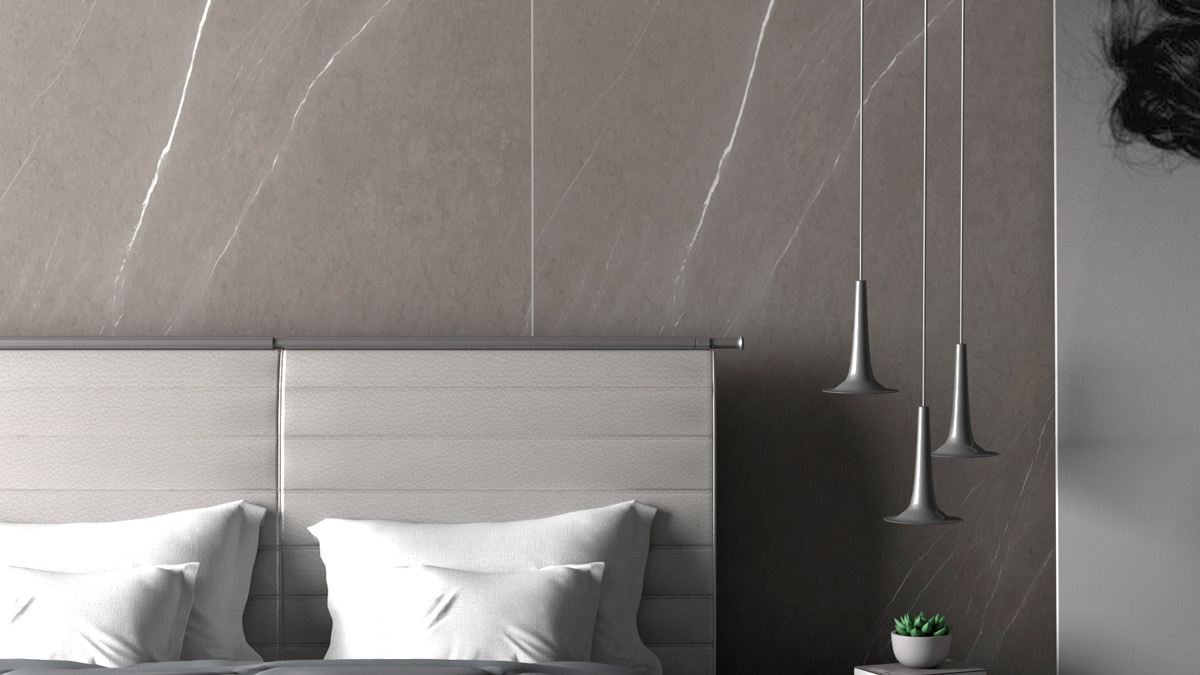Pared - Pietra Grey - Wall - Mármol Gris - Grey marble