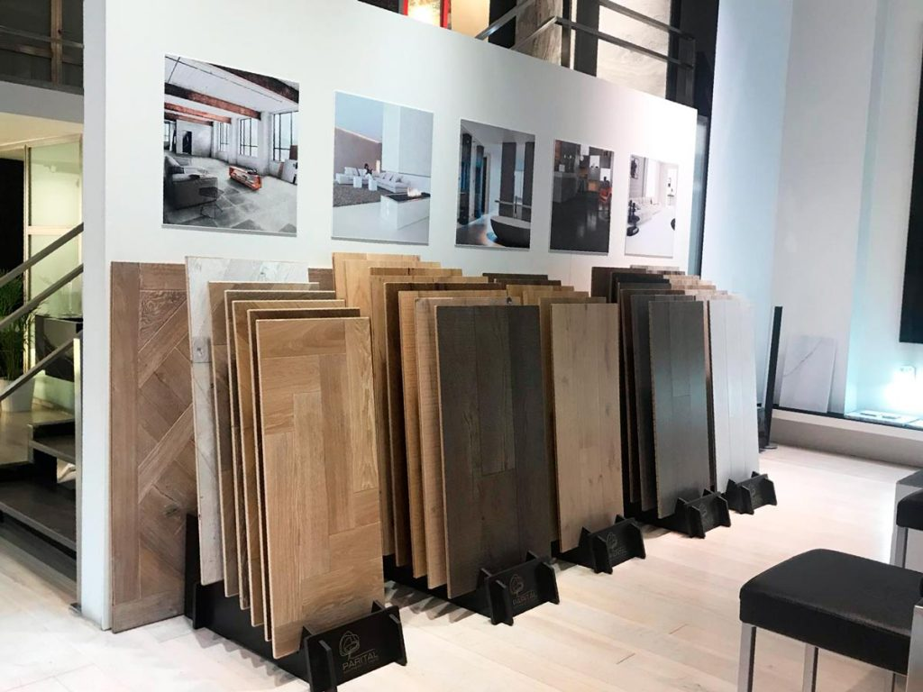 Madera de lujo - Showroom Madrid - Tino Natural Stone
