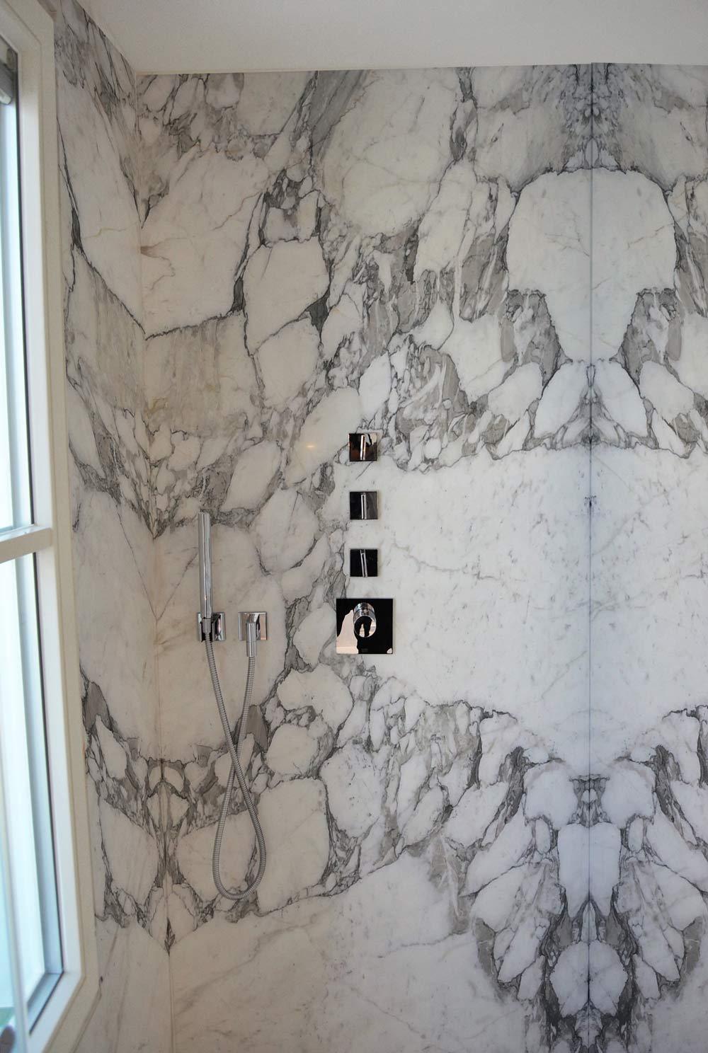 Baño - Arabescato Breccia - Bathroom