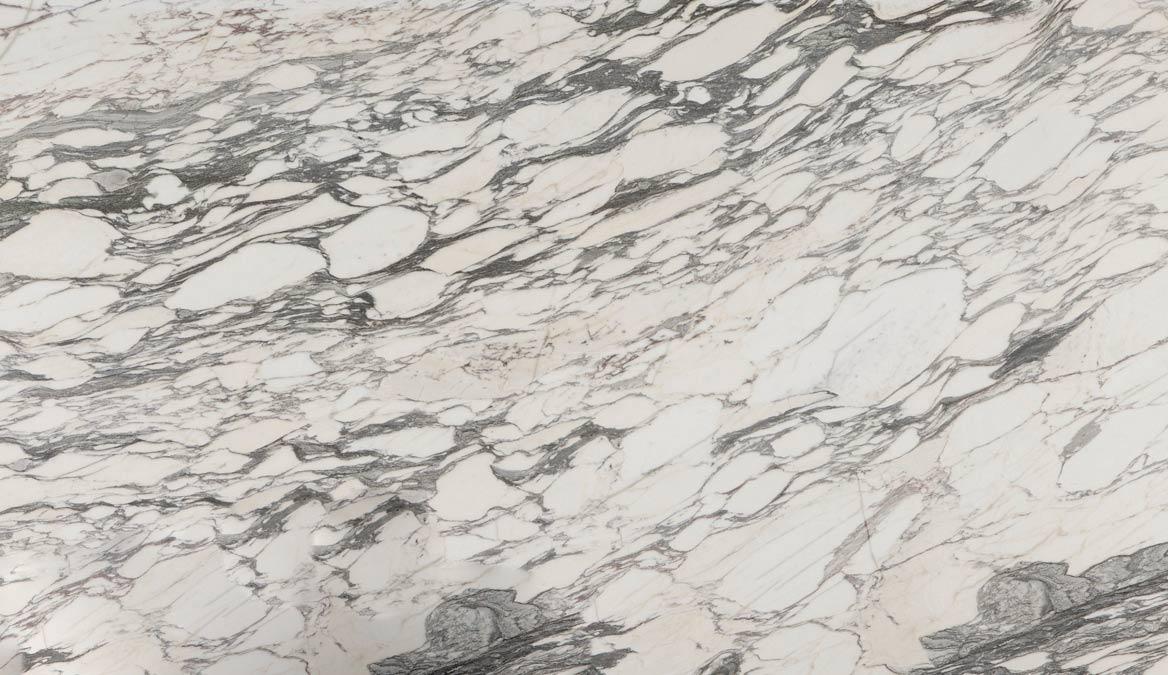 Closeup - Arabescato Breccia - Detalle