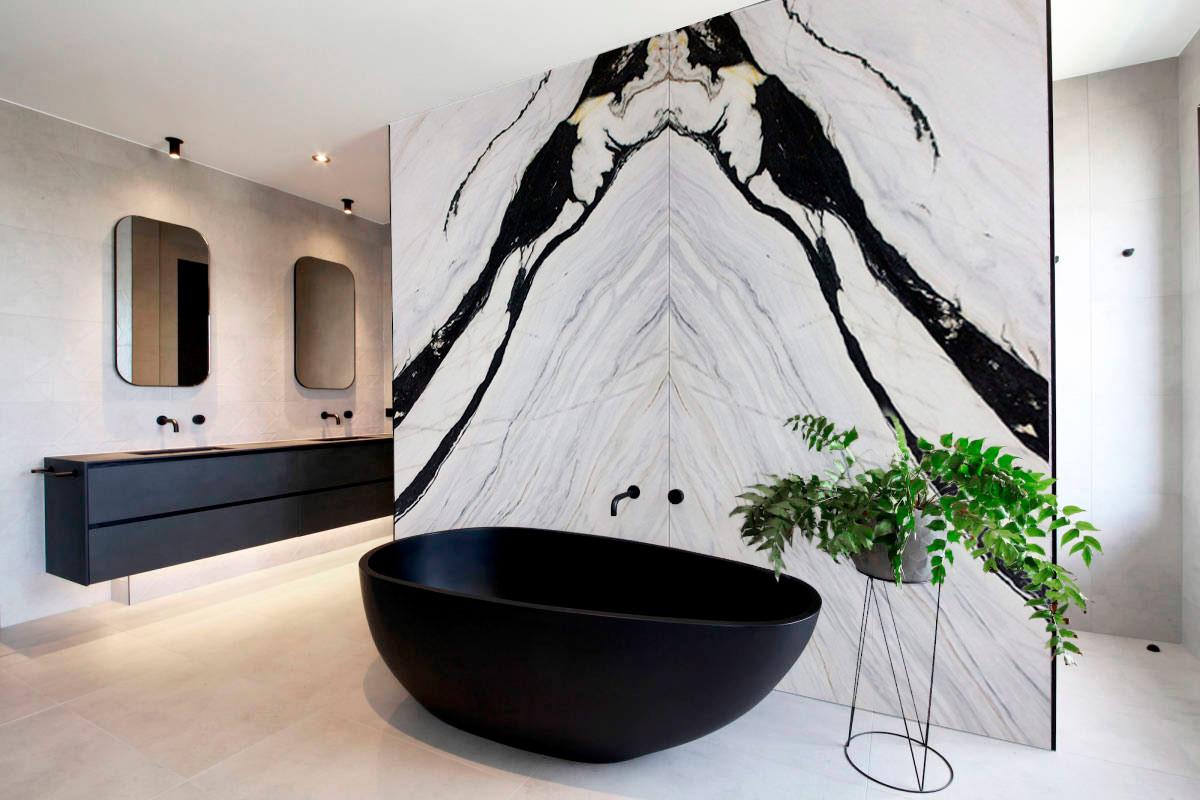 Pared baño - Bianco Lasa - Bathroom wall