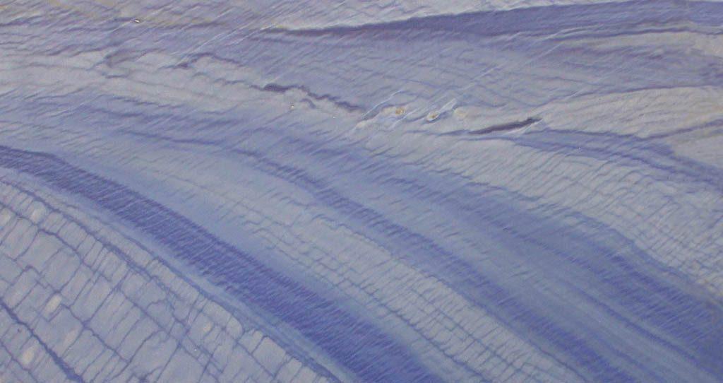 Detalle - Cuarcita Azul Macauba Blue Quartzite - Close up