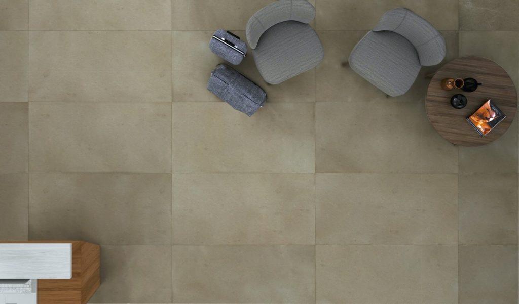 Suelo de caliza - Pangea Beige - Limestone floor