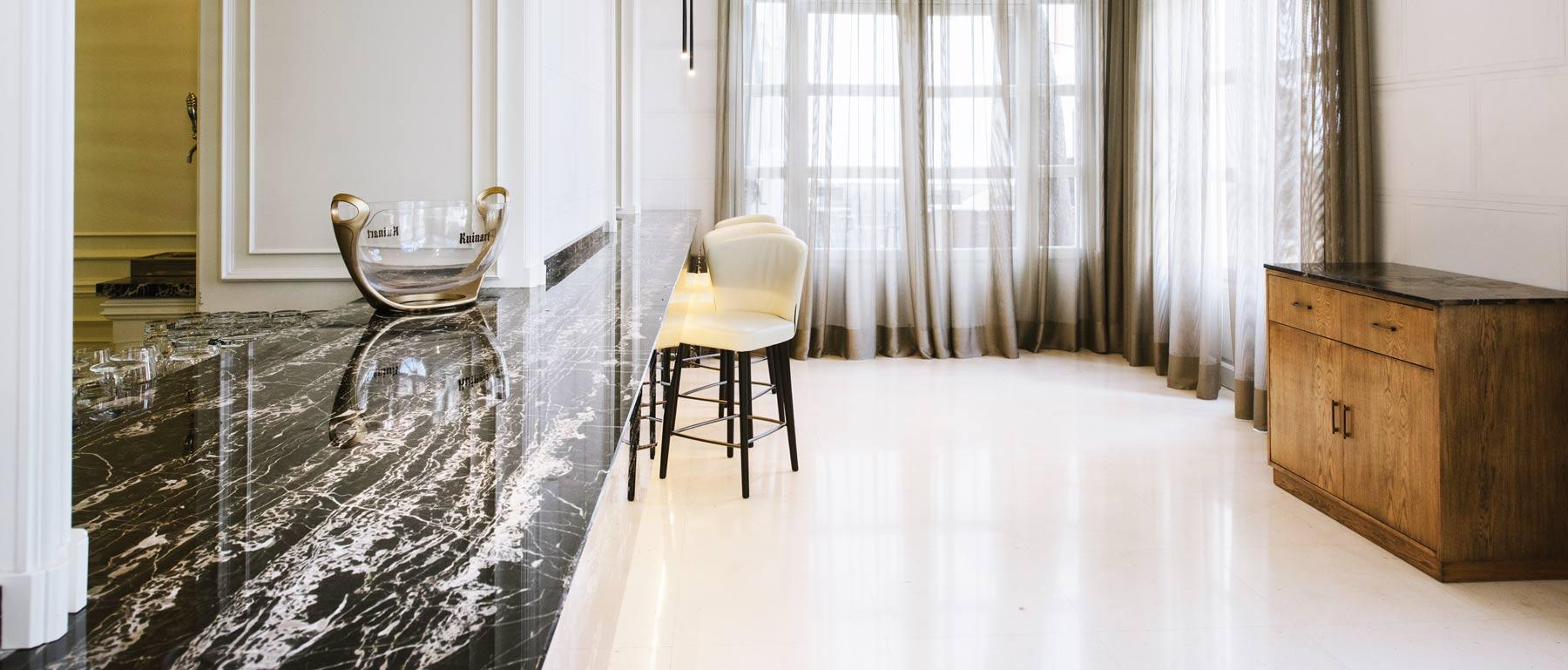 Proyectos de mármol y piedra natural - Natural stone and marble projects