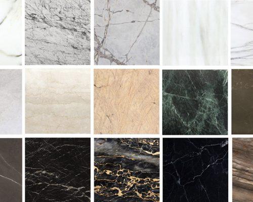 Tipos de mármol - Marble types