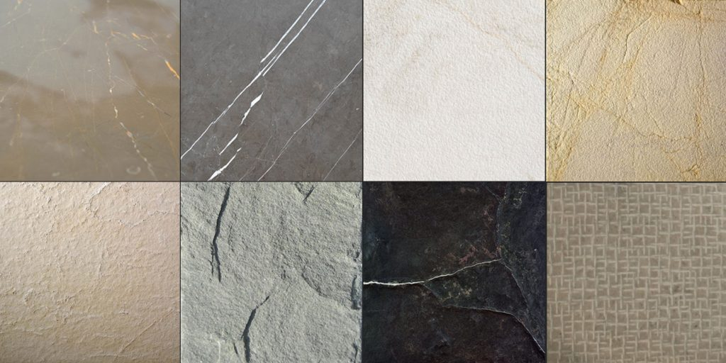 TIpos de acabados de mármol y piedra natural - Types of marble and natural stone finishes