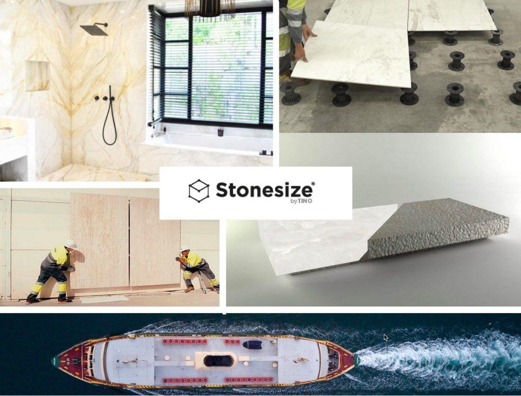 Web Stonesize by TINO® - Applications
