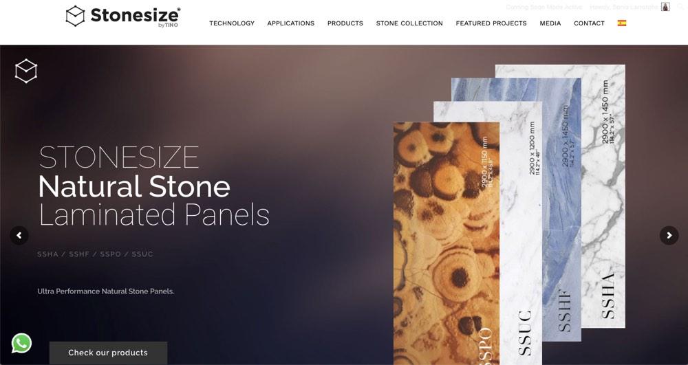 Web Stonesize by TINO®